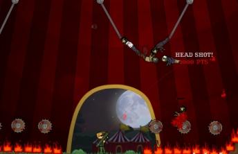 flaming zombooka 3 carnival play on bubbleboxcom game