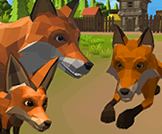 3D Fox Family Simulator