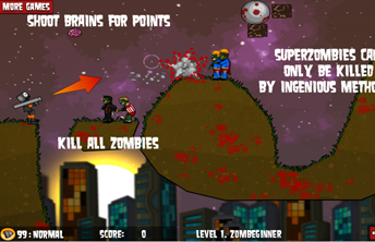 Level Pack: Flaming Zombooka 2
